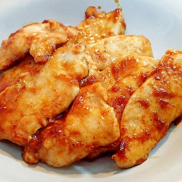 ソテー 肉 鶏 胸