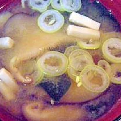 乾物で美味しい♪高野豆腐と干し椎茸のお味噌汁