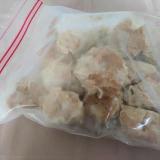 焼売の冷凍保存