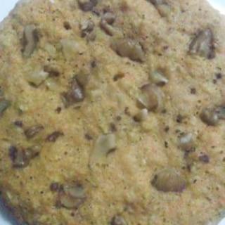マクロビ★炊飯器de米ぬか入り人参パンケーキ