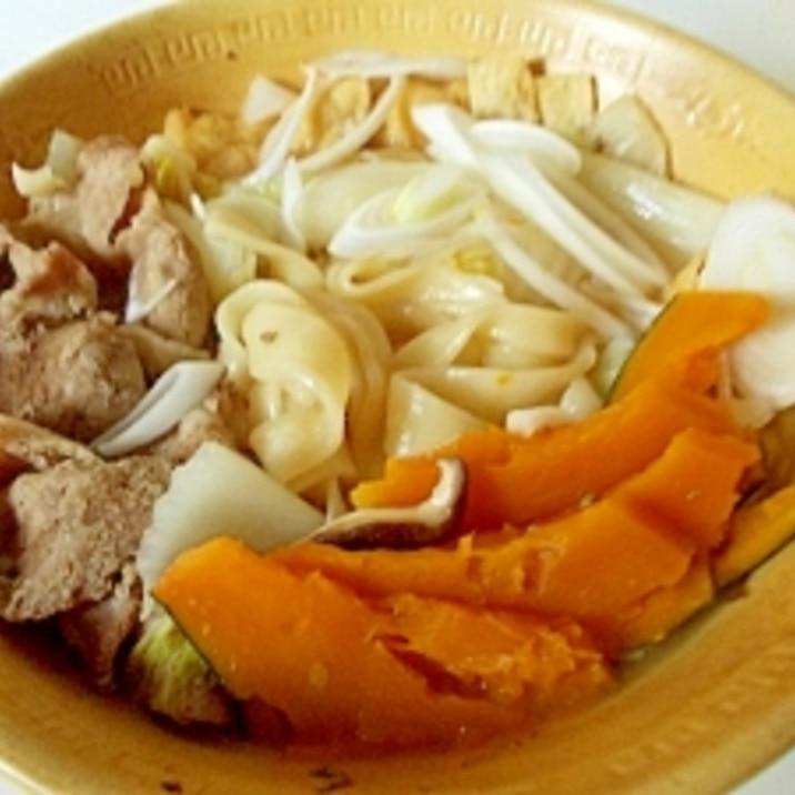 かぼちゃの ほうとう鍋