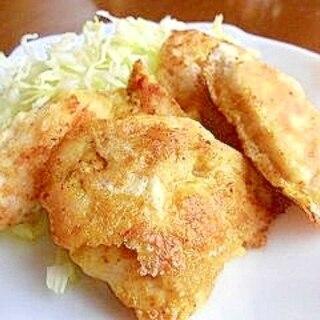 チキンのカレーピカタ
