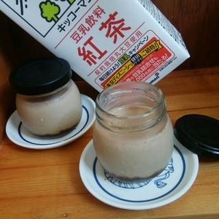 豆乳紅茶プリン
