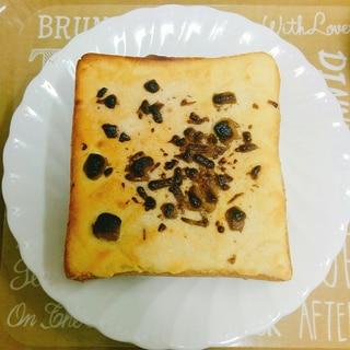 簡単☆おやつ!チョコチップメロンパントースト