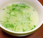 玉ねぎとねぎの中華スープ