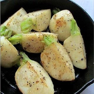 かぶの簡単蒸し煮