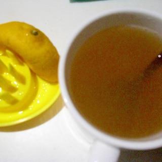 蜂蜜レモン生姜茶