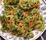 春菊とにんじんの天ぷら
