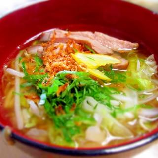ベトナム風汁ビーフン