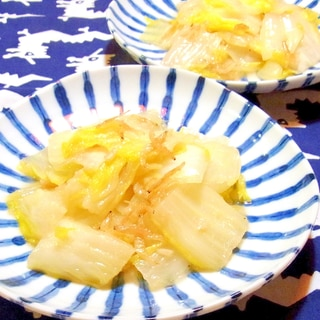 白菜の桜海老炒め