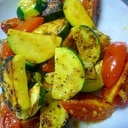 美味しい!ズッキーニとトマトの簡単炒め