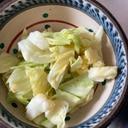 レンチン♪ざく切りキャベツの和風サラダ