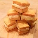 バター香る、濃厚ホワイトチョコサンドクッキー