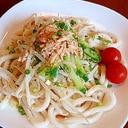 簡単☆夏にピッタリ☆サラダうどん