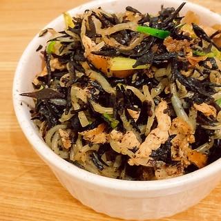 ヒリ辛★青唐入り白滝とひじきの炒り煮