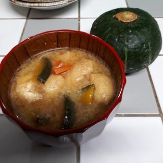 甘味もあってみんな大好き!かぼちゃの味噌汁