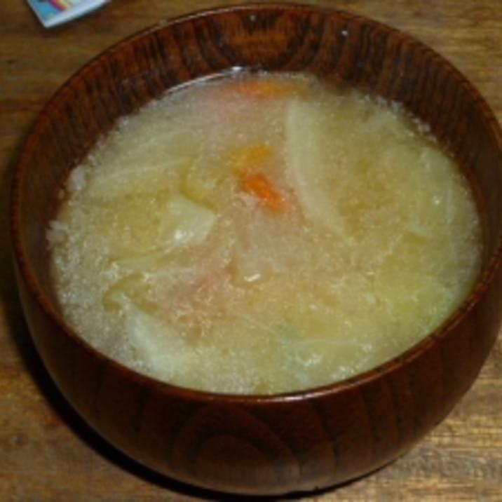 スープ 牛脂
