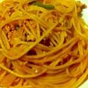 懐かしの味、ナポリタンスパゲッティ♪