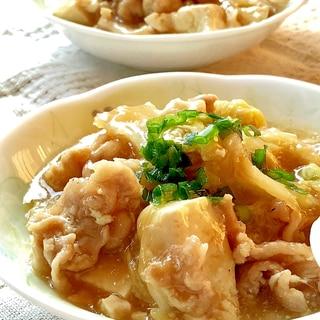 とろ〜り♡白菜・豚肉・豆腐のあんかけ煮