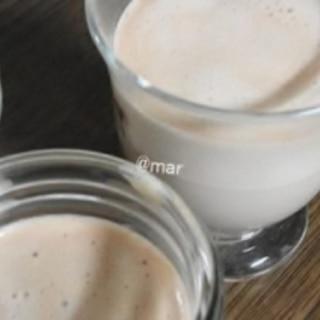 マシュマロと牛乳でムースゼリー♪