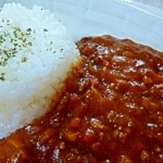 ひき肉トマトカレー
