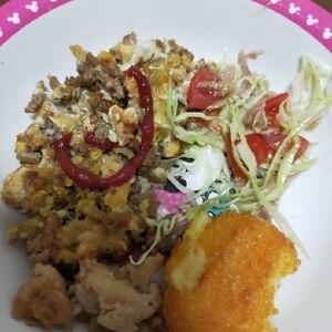 母の味☆ひき肉オムレツ