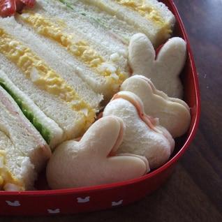 可愛い♡ジャムチーズサンド