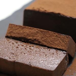 計り不要の材料3つ簡単生チョコテリーヌ