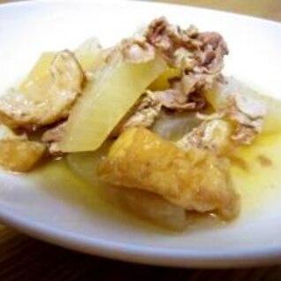 豚肉と大根とちくわの煮物