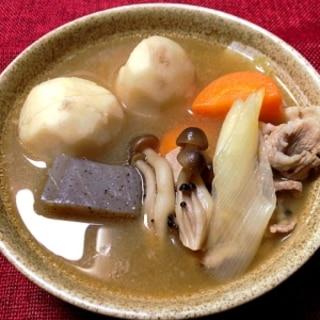 *寒い日には、芋煮〜♡♡