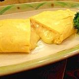 明太チーズがとろ~り☆居酒屋風オムレツ