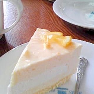 はちみつレモンムースケーキ