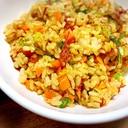 カレー風味⭐コンビーフ炒飯