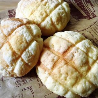 サクサクふわふわメロンパン
