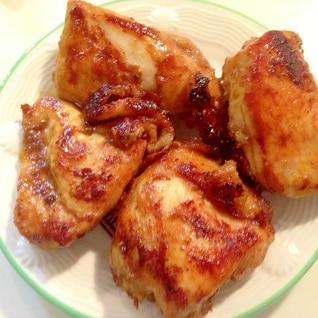 味付けしておいて焼くだけ 鶏肉のカレー風味焼き