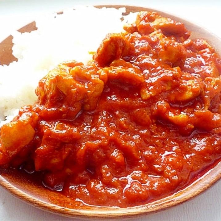 トマトチキンカレー