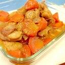 簡単♪(^^)鶏もも肉とニンジンのゴマ味噌煮♪
