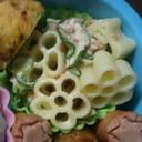 お花のマカロニサラダ