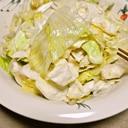 た~っぷり食べれるキャベツの和風サラダ