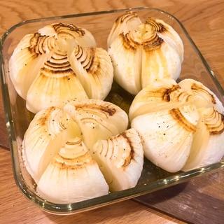 新玉ねぎの丸ごとオーブン焼き!