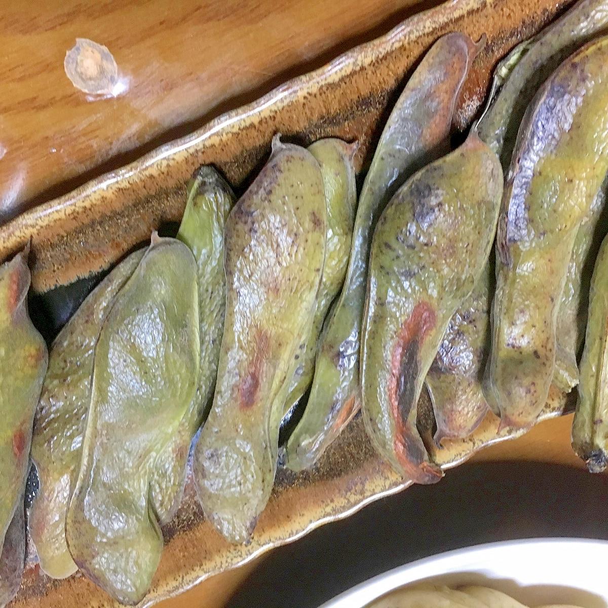 方 空豆 オーブン 焼き