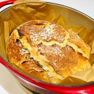 世界一、簡単でこねないパリパリの職人パン