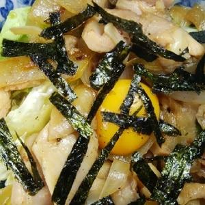 フライパンで簡単☆焼き鳥丼