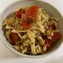 糸豆腐とトマトのサラダ