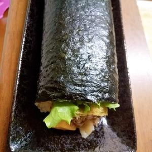 卵とツナマヨ巻き寿司