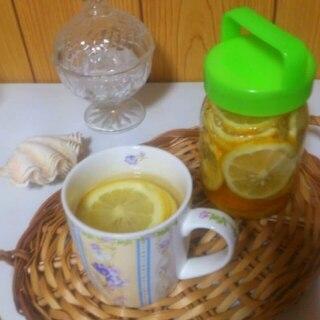 材料2つだけ★レモン砂糖でレモネード