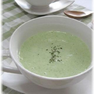 夏バテに!ねばとろオクラとヨーグルトの冷製スープ