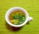 大根とブロッコリーのコンソメスープ