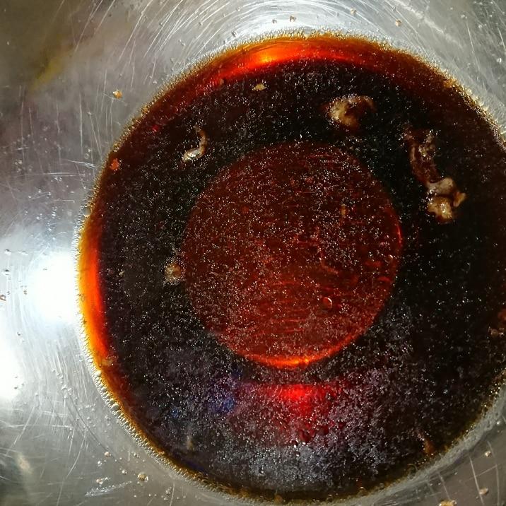 チキン南蛮のタレ