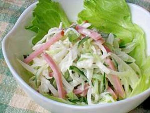 ピリッとさわやか 柚子こしょうマヨの大根サラダ